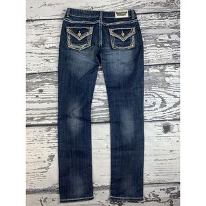 Rock and Roll Cowgirl Skinny Jeans - 29 x 34